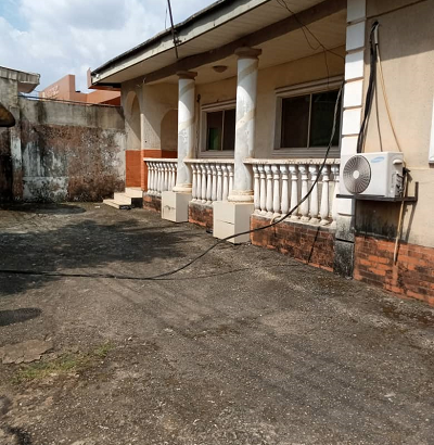 4-bedroom bungalow with POP with two rooms BQ